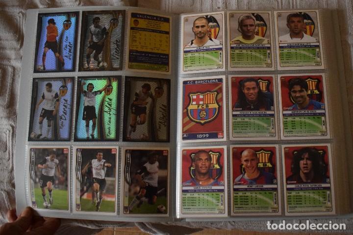 Álbum de fútbol completo: album completo futbol las fichas de la liga 2005 mundi cromo, as. temporada 2004-2005 , 246 fichas - Foto 3 - 152237324