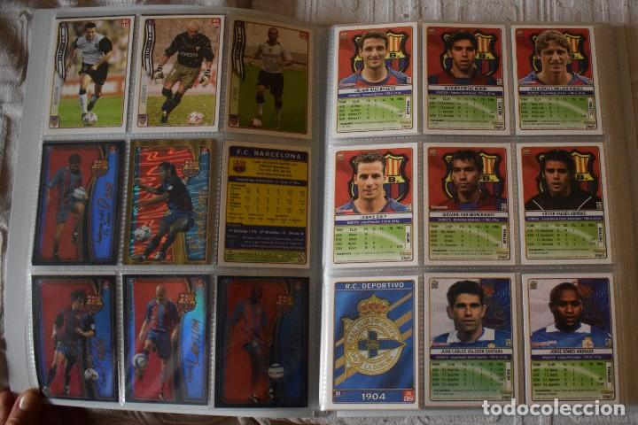 Álbum de fútbol completo: album completo futbol las fichas de la liga 2005 mundi cromo, as. temporada 2004-2005 , 246 fichas - Foto 4 - 152237324