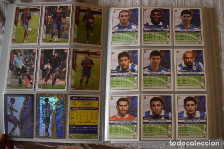 Álbum de fútbol completo: album completo futbol las fichas de la liga 2005 mundi cromo, as. temporada 2004-2005 , 246 fichas - Foto 5 - 152237324