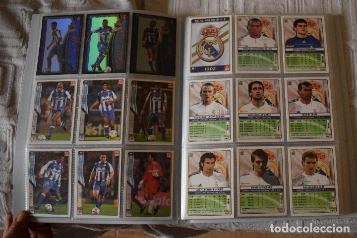 Álbum de fútbol completo: album completo futbol las fichas de la liga 2005 mundi cromo, as. temporada 2004-2005 , 246 fichas - Foto 6 - 152237324