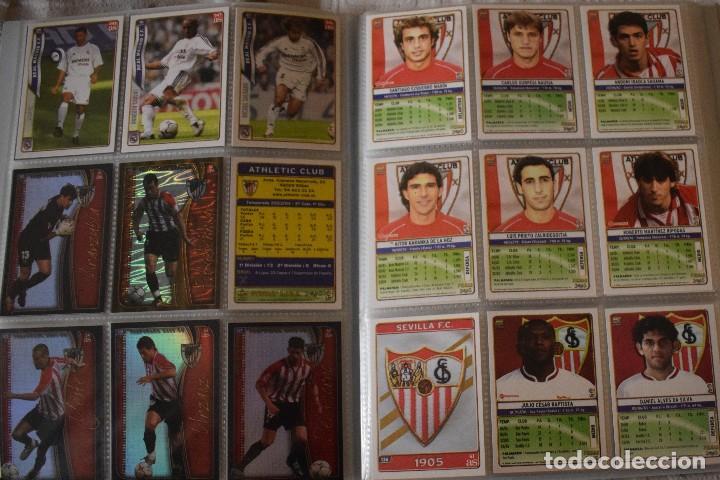 Álbum de fútbol completo: album completo futbol las fichas de la liga 2005 mundi cromo, as. temporada 2004-2005 , 246 fichas - Foto 8 - 152237324
