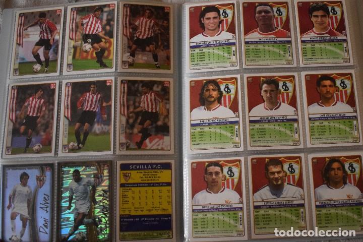 Álbum de fútbol completo: album completo futbol las fichas de la liga 2005 mundi cromo, as. temporada 2004-2005 , 246 fichas - Foto 9 - 152237324