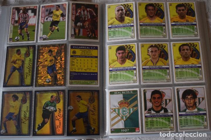 Álbum de fútbol completo: album completo futbol las fichas de la liga 2005 mundi cromo, as. temporada 2004-2005 , 246 fichas - Foto 12 - 152237324