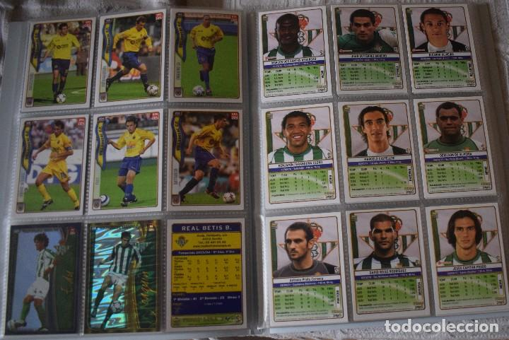 Álbum de fútbol completo: album completo futbol las fichas de la liga 2005 mundi cromo, as. temporada 2004-2005 , 246 fichas - Foto 13 - 152237324