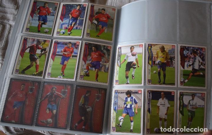Álbum de fútbol completo: album completo futbol las fichas de la liga 2005 mundi cromo, as. temporada 2004-2005 , 246 fichas - Foto 29 - 152237324