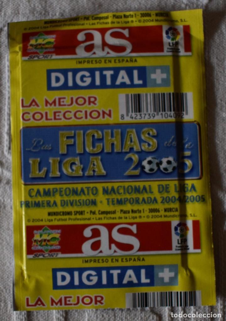 Álbum de fútbol completo: album completo futbol las fichas de la liga 2005 mundi cromo, as. temporada 2004-2005 , 246 fichas - Foto 32 - 152237324