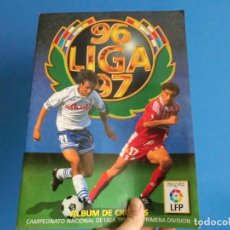 Álbum de fútbol completo: ESTE 96/97 COMPLETISIMO CON MUCHISIMOS COLOCAS Y TODOS LOS ULTIMOS FICHAJES. Lote 155026213