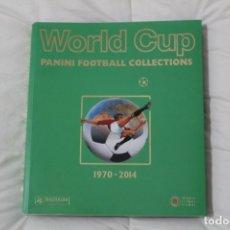 Álbum de fútbol completo: ALBUM PANINI . LIBRO FACSIMIL MUNDIAL DE FÚTBOL. WORLD CUP 1970-2014.. Lote 132898921