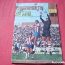 Álbum de fútbol completo: ALBUM ED. FHER CAMPEONATO LIGA 1969-1970 COMPLETO. Lote 140916282