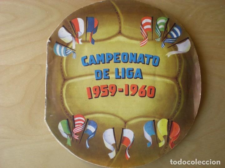 ALBUM COMPLETO CROMOS FUTBOL CAMPEONATO DE LIGA 1959-1960, EDITORIAL FHER (Coleccionismo Deportivo - Álbumes y Cromos de Deportes - Álbumes de Fútbol Completos)
