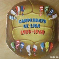Álbum de fútbol completo: ALBUM COMPLETO CROMOS FUTBOL CAMPEONATO DE LIGA 1959-1960, EDITORIAL FHER. Lote 141169574