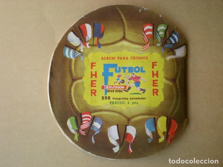 Álbum de fútbol completo: ALBUM COMPLETO CROMOS FUTBOL CAMPEONATO DE LIGA 1959-1960, EDITORIAL FHER - Foto 9 - 141169574