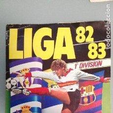 Álbum de fútbol completo: ALBUM FUTBOL EDIC ESTE 1982 1983 82 83 COMPLETO CON 346 CROMOS INCLUYE FICHAJES MUY BUENA CONSERVACI. Lote 141638918