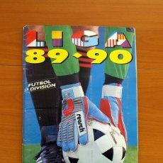 Álbum de fútbol completo: ÁLBUM LIGA 89-90, 1989-1990 - EDICIONES ESTE - COMPLETO - VER FOTOS Y EXPLICACIÓN EN EL INTERIOR. Lote 26286887