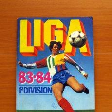 Álbum de fútbol completo: ÁLBUM LIGA 1983-1984, 83-84 - EDICIONES ESTE - COMPLETO - VER FOTOS Y EXPLICACIONES INTERIORES. Lote 26337903