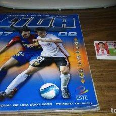 Álbum de fútbol completo: EDICIONES ESTE 2007 2008 07 08 - ALBUM COMPLETO CON TODO LO PUBLICADO (575 CROMOS). Lote 142134398