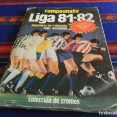 Album de football complet: ESTE LIGA 1981 1982 81 82 MUY COMPLETO CON MUCHO DOBLE Y COLOCA. REGALO 2014 2015 14 15.. Lote 142372442