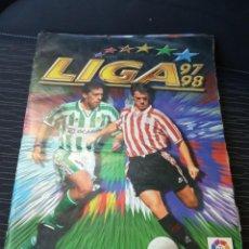 Álbum de fútbol completo: ALBUM COMPLETO DE CROMOS FUTBOL LIGA 1997-1998 97-98 - 480 CROMOS (FALTAN 12 FICHAJES). Lote 142779522