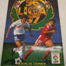 Álbum de fútbol completo: ALBUM CROMOS FUTBOL LIGA 96-97 1996-1997 ESTE CON 558 CROMOS. Lote 142889246