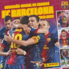 Álbum di calcio completo: COLECCIÓN OFICIAL DE CROMOS-- FC BARCELONA 2012 - 2013. Lote 143028758