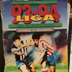 Álbum de fútbol completo: ÁLBUM EDICIONES ESTE TEMPORADA 93-94 COMPLETO VERSIÓN ADHESIVA CON MUCHOS DOBLES. Lote 143209598