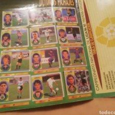 Álbum de fútbol completo: ALBUM COMPLETISIMO 96-97. COLECCIONS ESTE. TODOS LOS COLOCA.. Lote 143282032
