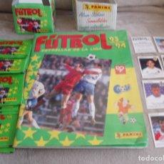 Álbum de fútbol completo: 9933- ALBUM ESTRELLAS DE LA LIGA FUTBOL 93 94 PANINI + AÑADIDOS. Lote 143615866