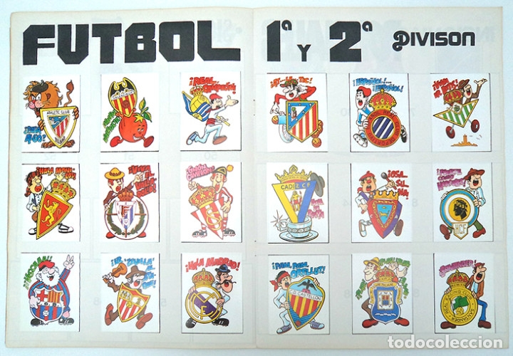 ALBUM 1982 COMPETICION, COMPLETO. ESCUDOS FUTBOL, BEATLES, MOTOS, COCHES, DEPORTE, HOROSCOPO (Coleccionismo Deportivo - Álbumes y Cromos de Deportes - Álbumes de Fútbol Completos)