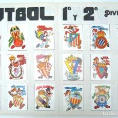Álbum de fútbol completo: ALBUM 1982 COMPETICION, COMPLETO. ESCUDOS FUTBOL, BEATLES, MOTOS, COCHES, DEPORTE, HOROSCOPO. Lote 69244877
