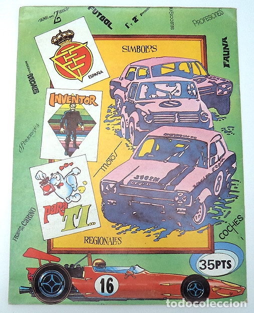Álbum de fútbol completo: album 1982 COMPETICION, completo. Escudos futbol, Beatles, Motos, Coches, deporte, horoscopo - Foto 12 - 69244877
