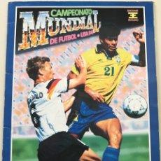 Álbum de fútbol completo: ÁLBUM CAMPEONATO MUNDIAL DE FÚTBOL USA 94 - EDICIONES ESTADIO - COMPLETO. Lote 144104246