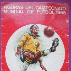 Álbum de fútbol completo - ALBUM CROMOS, FIGURAS DEL CAMPEONATO MUNDIAL DE FUTBOL 1966, FHER, COMPLETO, CROMOS IMPRESOS - 144114610