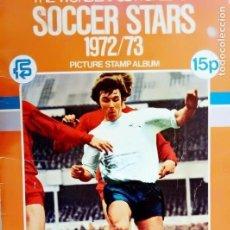 Álbum de fútbol completo: ALBUM FKS PICTURE STAMP. - THE WONDERFUL WORLD OF SOCCER STARS 1972/73.#. Lote 144569070