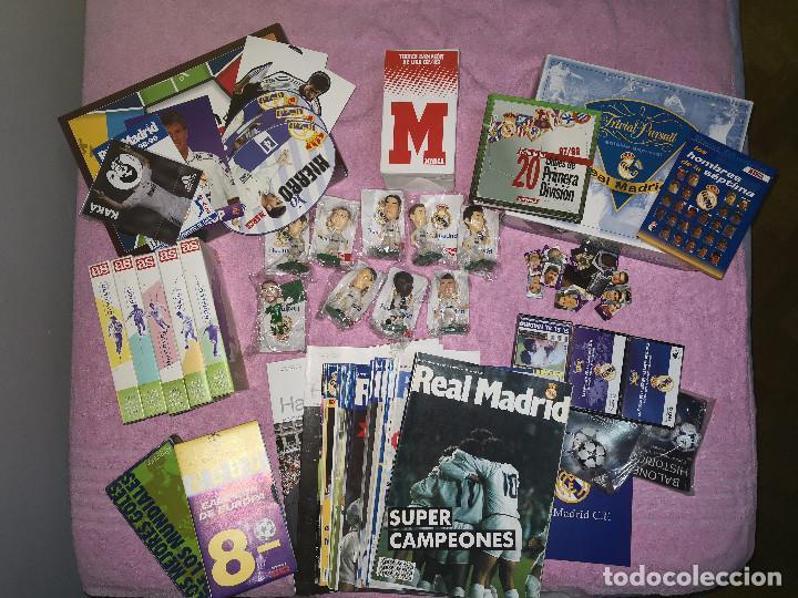 LOTE HISTORIA DEL REAL MADRID (Coleccionismo Deportivo - Álbumes y Cromos de Deportes - Álbumes de Fútbol Completos)