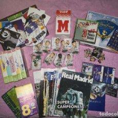 Álbum de fútbol completo: LOTE HISTORIA DEL REAL MADRID. Lote 144698558