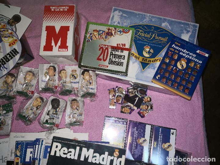 Álbum de fútbol completo: LOTE HISTORIA DEL REAL MADRID - Foto 3 - 144698558
