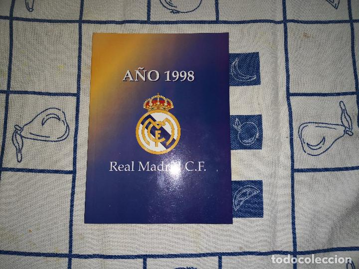 Álbum de fútbol completo: LOTE HISTORIA DEL REAL MADRID - Foto 16 - 144698558