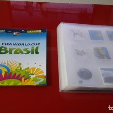 Álbum de fútbol completo: COLECCION COMPLETA MUNDIAL BRASIL 2014 PANINI SIN PEGAR MAS ALBUM VACIO(C. RONALDO,MESSI...). Lote 144745634