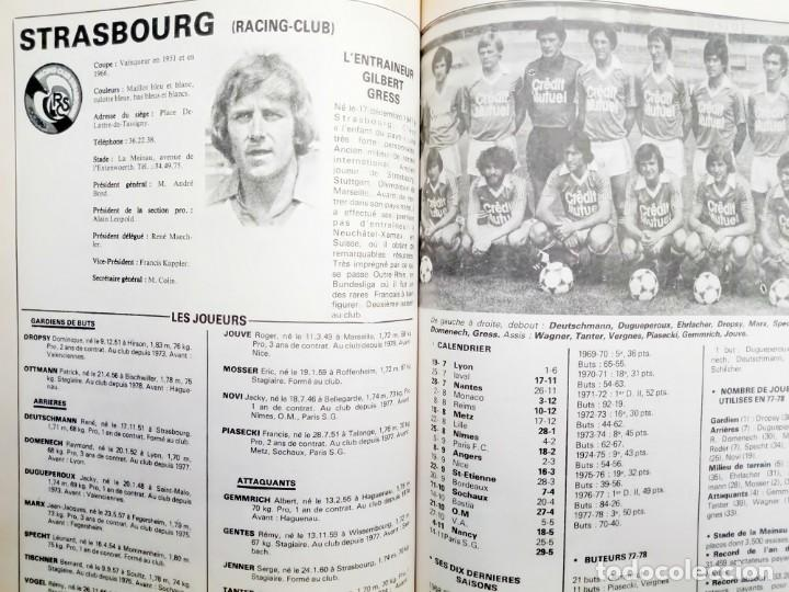 Álbum de fútbol completo: LES CAHIERS DE LEQUIPE. - FOOTBALL 79.# - Foto 3 - 144797110