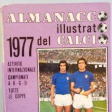 Álbum de fútbol completo: PANINI. - ALMANACCO DEL CALCIO 1977.#. Lote 144799330