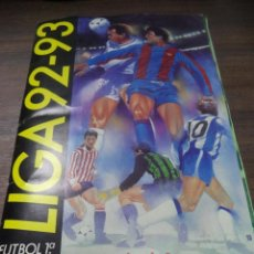 Álbum de fútbol completo: ALBUM COMPLETO. LIGA 92/93. EDICIONES ESTE. CONTIENE DOS DOBLES. PERFECTO ESTADO. VER FOTOS.. Lote 145048670