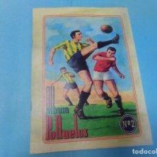 Álbum de fútbol completo: ALBUM POLLUELOS Nº 2,TEMPORADA 1944-1945, COMPLETO. Lote 145480454