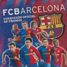 Álbum di calcio completo: FC BARCELONA 2008 - 2009. Lote 145789182