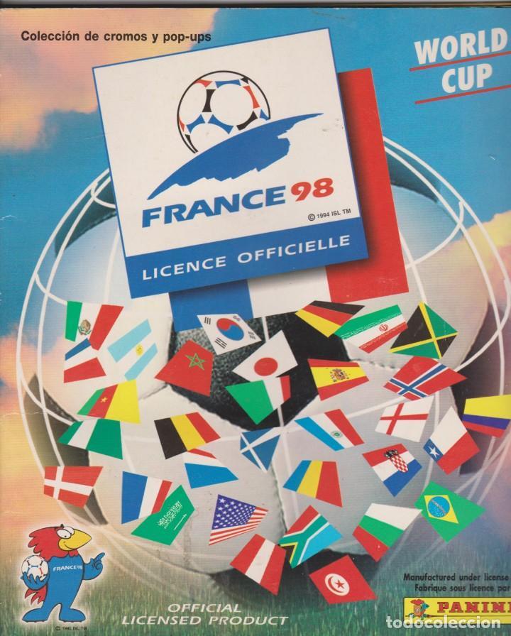 WORLD CUP -- FRANCE 98 (Coleccionismo Deportivo - Álbumes y Cromos de Deportes - Álbumes de Fútbol Completos)