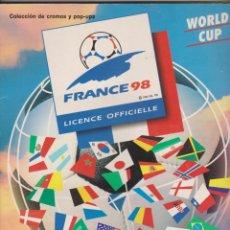 Álbum de fútbol completo: WORLD CUP -- FRANCE 98. Lote 145789510