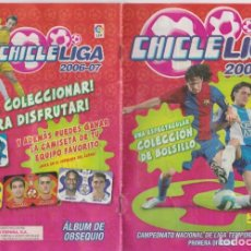 Álbum de fútbol completo: CHICLE LIGA 2006-07 -- CAMPEONATO NACIONAL DE LIGA TEMPORADA 2006-07 . Lote 145794770