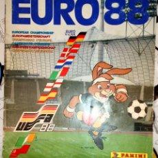 Álbum de fútbol completo: ALBUM COMPLETO EURO ALEMANIA 88 - EUROCOPA 1988 - PANINI - VER FOTOS Y LEER DESCRIPCION. Lote 145866334
