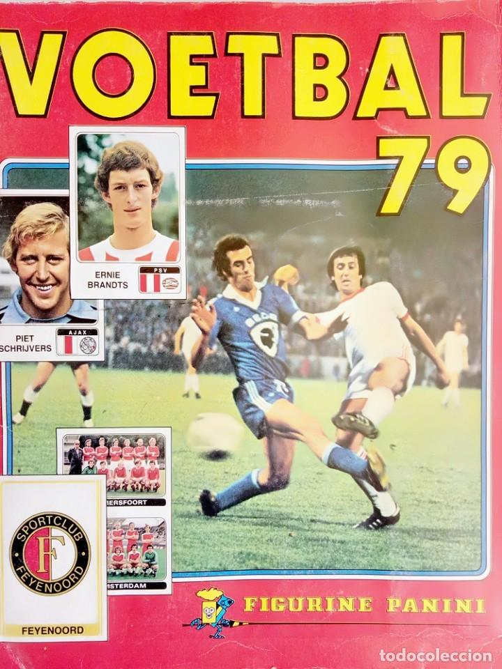 ALBUM PANINI. - VOETBAL 79 - # (Coleccionismo Deportivo - Álbumes y Cromos de Deportes - Álbumes de Fútbol Completos)