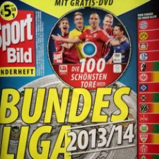 Álbum de fútbol completo: SPORT BILD. - BUNDESLIGA 2013/2014 - #. Lote 173478875