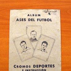 Álbum de fútbol completo: ASES DEL FÚTBOL - EDITORIAL VALENCIANA 1941-1942, 41-42 - ÁLBUM COMPLETO - VER FOTOS ADICIONALES. Lote 146073458